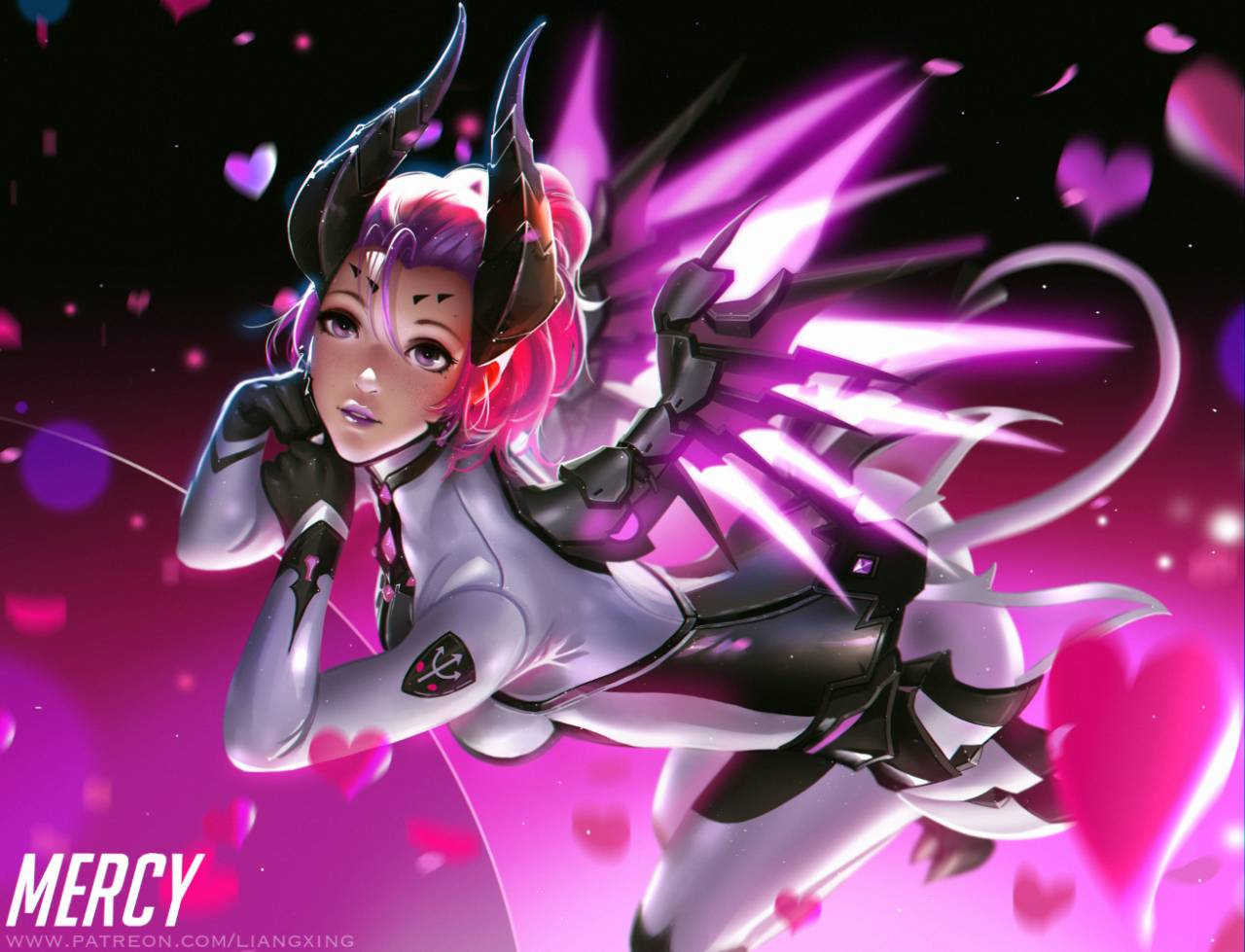 imp mercy+mercy (overwatch)