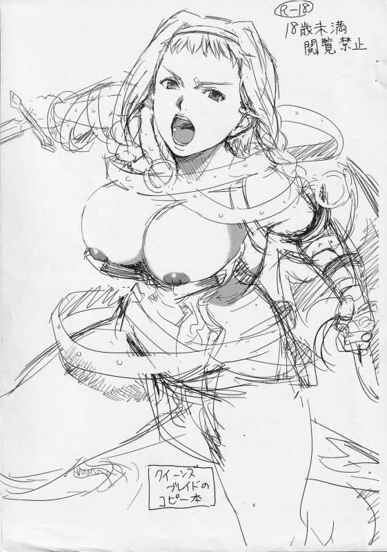 (C77) [Mumumu Jirushi (MUMU)] Kuiinzubureido no Kopii Hon (Queen's Blade)