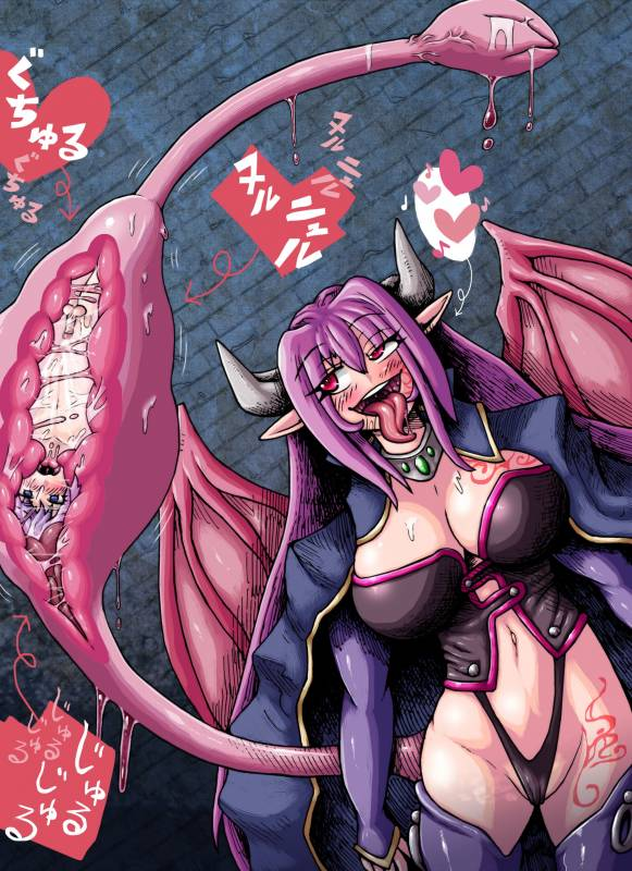 Hentai Tits Lick Monster